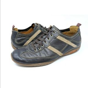 Cole Haan Leather Sneakers Lace Up Casual Loafer